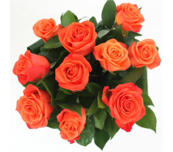 Orange Rose Bouquet in Grimsby ON, Cole's Florist Inc.