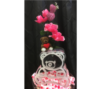 Mini Bear Ice Sculpture in Rochester NY, Fabulous Flowers and Gifts