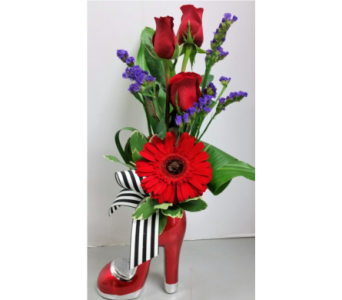 Red Bottoms in Brampton ON, Flower Delight