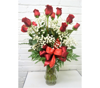 Premium Long Stem Red Roses in Springfield MO, House of Flowers Inc.