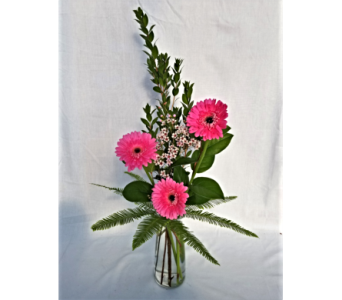 Thoughts Of You Bouquet with Gerbera Daisies in New Ulm MN, A to Zinnia Florals & Gifts