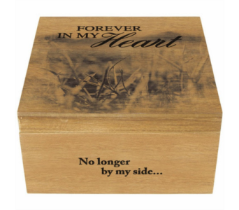 Forever in My Heart Memory Box in Metropolis IL, Creations The Florist