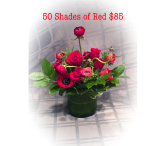 50 Shades of Red  in Hilton Head Island SC, Flowers by Sue, Inc.