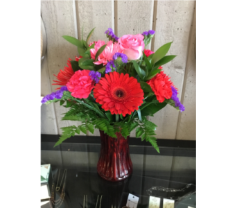Mixed Arrangment  in Wallaceburg ON, Westbrook's Flower Shoppe