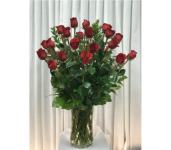 24 Red Roses in Naples FL, Gene's 5th Ave Florist