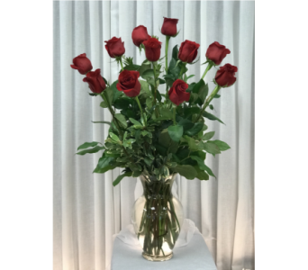 Dozen Red Roses in Naples FL, Gene's 5th Ave Florist