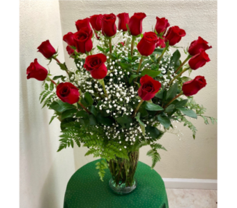 Two Dozen Red Roses in Stockton CA, J & S Flowers
