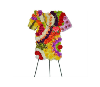 Specialty Spray - Tie Dye Shirt  in Trumbull CT, P.J.'s Garden Exchange Flower & Gift Shoppe