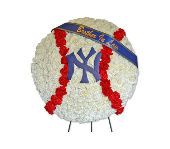 Specialty Spray - Baseball in Fairfield CT, Glen Terrace Flowers and Gifts