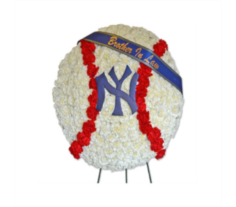 Specialty Spray - Baseball in Fairfield CT, Town and Country Florist