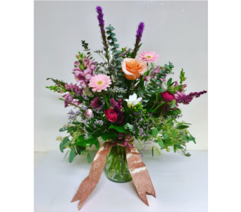 Shimmer and Shine Vase Arrangment in Wyoming MI, Wyoming Stuyvesant Floral
