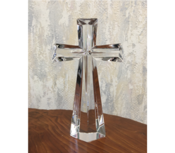 Crystal Cross Keepsake in Wyoming MI, Wyoming Stuyvesant Floral
