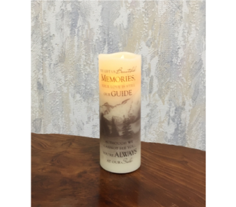 Beautiful Memories Premier Flicker LED Candle in Wyoming MI, Wyoming Stuyvesant Floral