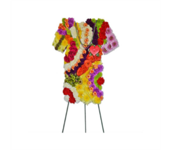 Specialty Spray - Tie Dye Shirt  in Westport CT, Hansen's Flower Shop & Greenhouse