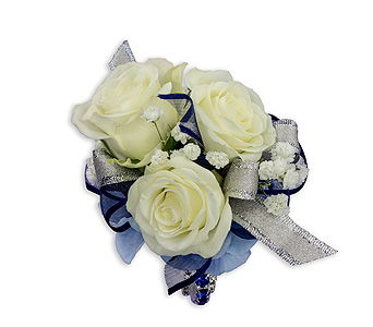 Beauty Within Wrist Corsage in Columbus OH, Villager Flowers & Gifts