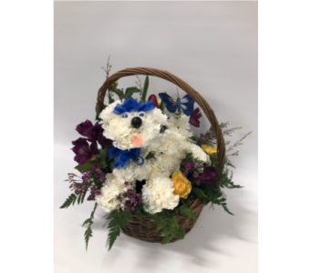 Welch's Puppy Dog in Lynn MA, Welch Florist
