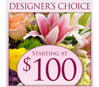 Designer's Choice $100.00 in Indianapolis IN, George Thomas Florist