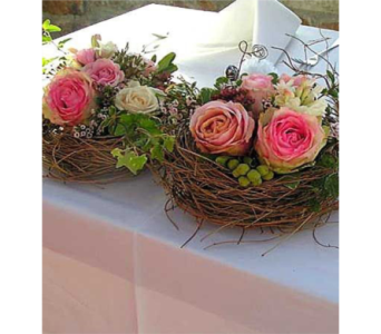 Easter Nest Bouquets in Bellevue WA, CITY FLOWERS, INC.