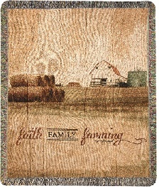 Faith Family Farming Throw in Martinsville IN, Flowers By Dewey