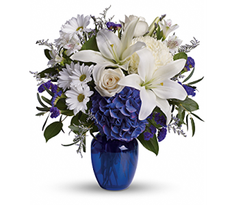 Beautiful in Blue in Rockledge PA, Blake Florists