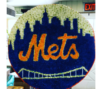 Mets Logo in Staten Island NY, Kitty's and Family Florist Inc.