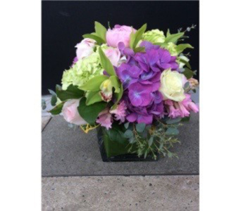 EASTER BOX BOUQUET in Bellevue WA, CITY FLOWERS, INC.