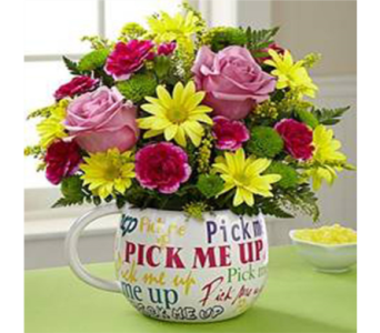 Pick me up Bouquet in Moncton NB, Macarthur's Flower Shop