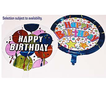 Happy Birthday Mylar Balloons in Baltimore MD, Gordon Florist