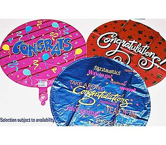 Congratulations Mylar Balloons in Baltimore MD, Gordon Florist