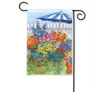 Fresh Picked Garden Flag in Oviedo FL, Oviedo Florist