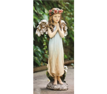 Parc Place Praying Angel in Dayton OH, Furst The Florist & Greenhouses