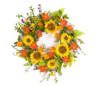 Sunflower Wreath 22