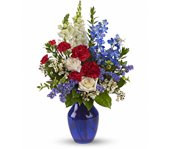 Sea to Shining Sea Bouquet in Brecksville OH, Brecksville Florist