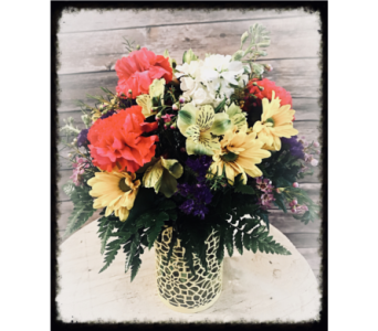 Mixed it Up Bouquet in Wilmington IL, The Flower Loft Inc