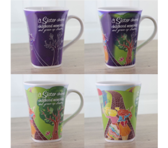 Sister Magic Story Mug in Oviedo FL, Oviedo Florist