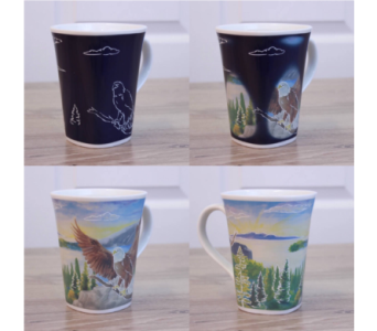 Soaring Eagle Magic Story Mug in Oviedo FL, Oviedo Florist