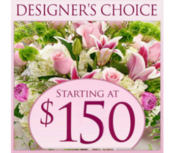 Designer's Choice $150 in Indianapolis IN, George Thomas Florist