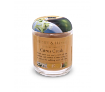 Citrus Crush Small Jar Candle in Alliston, New Tecumseth ON, Bern's Flowers & Gifts