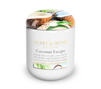 Coconut Escape Large Jar Candle in Alliston, New Tecumseth ON, Bern's Flowers & Gifts