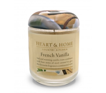 French Vanilla Large Jar Candle in Alliston, New Tecumseth ON, Bern's Flowers & Gifts