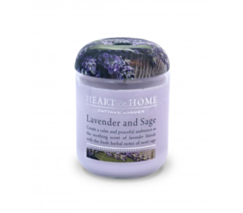 Lavender And Sage Small Jar Candle in Alliston, New Tecumseth ON, Bern's Flowers & Gifts