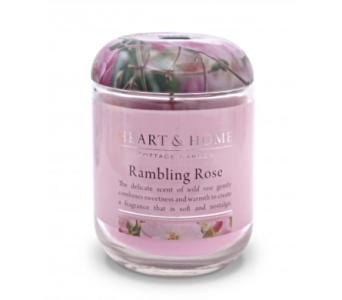 Rambling Rose Large Jar Candle in Alliston, New Tecumseth ON, Bern's Flowers & Gifts
