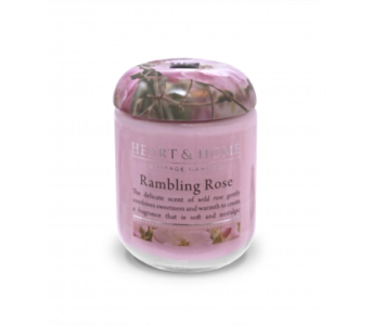 Rambling Rose Small Jar Candle in Alliston, New Tecumseth ON, Bern's Flowers & Gifts