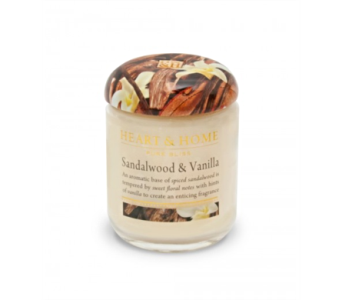 Sandalwood & Vanilla Small Jar Candle in Alliston, New Tecumseth ON, Bern's Flowers & Gifts
