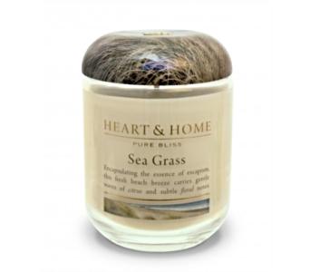 Sea Grass Large Jar Candle in Alliston, New Tecumseth ON, Bern's Flowers & Gifts