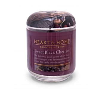 Sweet Black Cherries Large Jar Candle in Alliston, New Tecumseth ON, Bern's Flowers & Gifts