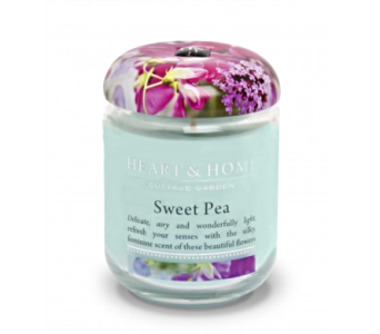 Sweet Pea Large Jar Candle in Alliston, New Tecumseth ON, Bern's Flowers & Gifts