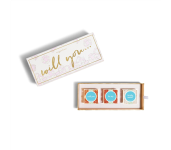 Will You Be My Bridesmaid-3pc Bento Box  in Little Rock AR, Tipton & Hurst, Inc.