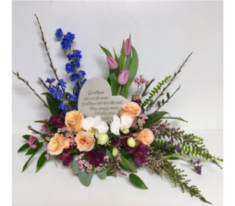 We'll Meet Again Garden Stone Luxury Arrangement in Wyoming MI, Wyoming Stuyvesant Floral