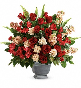 Teleflora's Bold Tribute Bouquet in McHenry IL, Locker's Flowers, Greenhouse & Gifts